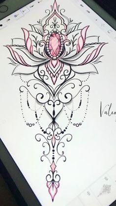 Boho Tattoos, Spine Tattoos, Feminine Tattoos, Girly Tattoos, Up Tattoos, Pretty Tattoos, Beautiful Tattoos, Flower Tattoos, Body Art Tattoos