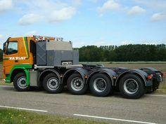 Scania. Zwaar transport. Speciaaltransport.