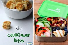 cauliflower salad and quad containers- 9 Healthy Lunch Trends for Kids, From Paleo to Pocket Pasta - ParentMap