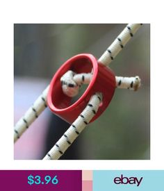 1e0020c6d Tents   Canopies Red Tent Awning Cord Rope Fastener Guy Line Runner  Tensioners Aluminum Alloy