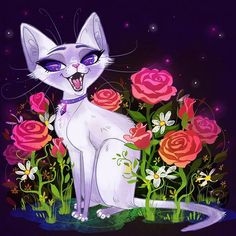 i'm alive :) and i came up with new fursona - siamese lilac.thought it would be fitting cuz of my name and stuffz haha, plus im a sucker for siamese so. ahh you know you're full of weird when. Kinds Of Cats, Lots Of Cats, Sweet Magic, Magic Cat, Fox And Rabbit, Cat Drawing, Siamese Cats, Cool Artwork, Dog Owners