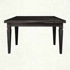 Luciano 54 Rectangle Dining Table In Burnished Black TablesRectangle TableDining Room TablesKitchen Ideas