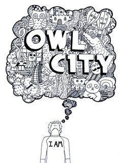 Owl City Doodle by snowfirelight.deviantart.com on @deviantART