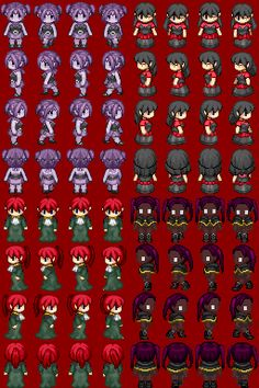 I made new sprites today.