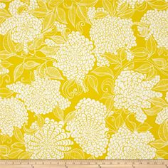 Designed by Valori Wells for Robert Kaufman, this fabric is perfect for quilting, apparel and home decor accents. Colors include shades of chartreuse and white.