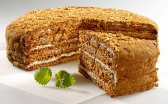 Medovnik - original Czech honey cake! It seems also one of the most difficult cakes to bake!