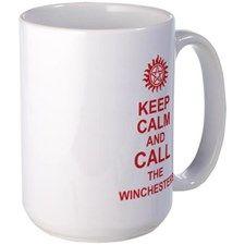 Keep Calm And Call The Winchesters Mug