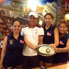 The Philippines Won in Ladies Touch Rugby in Bangkok.