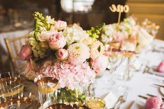 Vera Wang Glamour for a Wonderfully Luxurious Pink and Gold Wedding at Fetcham Park | Love My Dress® UK Wedding Blog