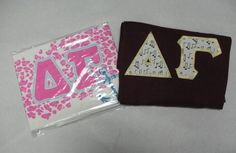 Come see our wide selection of custom merchandise & accessories for Delta Gamma. Save on Delta Gamma merchandise with our quantity discounts! Custom Greek Apparel, Sorority Outfits, Delta Gamma, Greek Clothing, Bid Day, Screen Printing, Picture Frames, Shirts, Greek Outfits