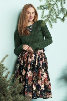 Shine on this holiday in the coziest party styles.