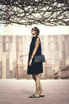 #artyfilles #black #streetstyle *I have a few dresses like this and I adore them*