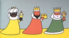 Beautiful Dick Bruna illustration from 'The Christmas Book'