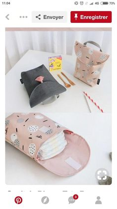 : - Projets de couture #bebe #bebe manualidades #bebe meninas Baby Sewing Projects, Sewing For Kids, Diy For Kids, Handgemachtes Baby, Baby Kind, Diy Bebe, Baby Turban, Baby Store, Baby Crafts