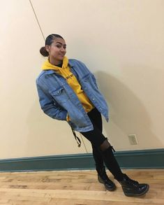 To School Outfit baddie Outfits # Spring # for ba … Tomboy Outfits, Baddie Outfits For School, Chill Outfits, Swag Outfits, Dope Outfits, Trendy Outfits, Dope Spring Outfits, Estilo Tomboy, Looks Style
