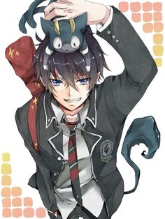 RIN  SO CUTE/COOL PICTURE 'Ao no exorcist'