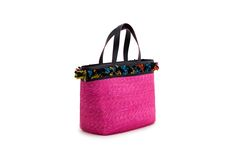 Azzurra Grochi spring/summer bags collection, shopper bag pink