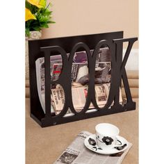 Truhome Booker Magazine Rack,Bookcases & Magazine Racks