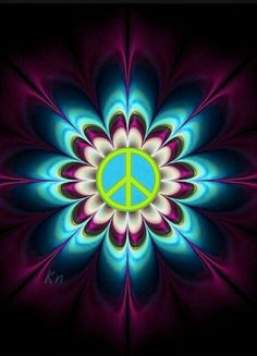 Hippie Peace, Happy Hippie, Peace Love Happiness, Peace And Love, Peace Sign Art, Peace Signs, Kathy Nails, Peace Sign Tattoos, Los Mejores Tattoos
