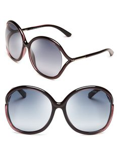 Tom Ford Rhi Oversized Sunglasses