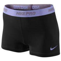 "Nike Pro 2.5"" Compression Short - Women's - Training - Clothing - Black/Pink"