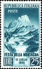 Emissione 1953. Festa della Montagna