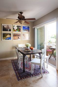 Archana's Around the World Bold Move — House Call//would love a porch/balcony off the kitchen and eating area