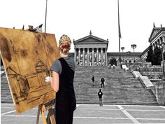 Philadelphia Art Museum: LIVE Painter