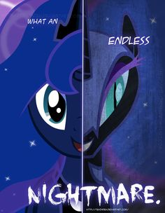 MLP - Two Sides of Luna by *TehJadeh on deviantART