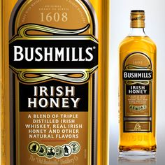 Bushmills Irish Honey #saintpatricksday #stpatricksday