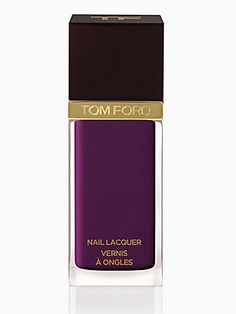 Tom Ford Beauty Nail Lacquer.  Called.. Bitter Bitch. LOL