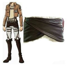 Rulercosplay Attack on Titan Shingeki No Kyojin Leather Apron Cosplay Accessory >>> Check out this great product.