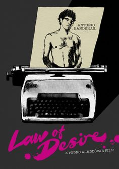 Law Of Desire poster by The Church of London