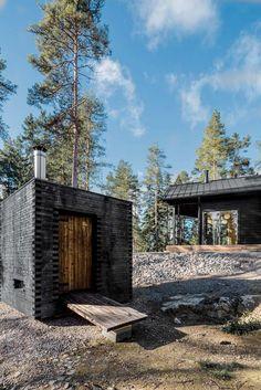 Gallery of Modern Log Villa in Central Finland / Pluspuu Oy - 2