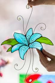 Image result for suncatcher pins Stained Glass Flowers, Stained Glass Windows, Stained Glass Suncatchers, Mother Birthday Gifts, Window Hanging, Stained Glass Projects, Gifts For Your Mom, Day Lilies, Sun Catcher