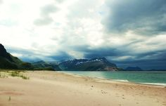 Sandvikstranden and Sandhornet, Norway. Photo by Ida Nova Together We Can, Norway, Europe, France, Mountains, Beach, Water, Travel, Outdoor