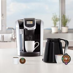 Say hello to Keurig® 2.0, the first Keurig system to brew a single cup and a full carafe. #keurig #mothersday #coffee