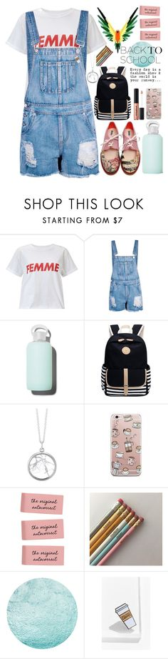 """FEMME"" by biscuitatlas ❤ liked on Polyvore featuring Miss Selfridge, Boohoo, bkr and Yesterdays"