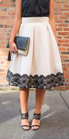 Gorgeous lace skirt