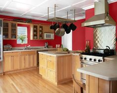 Red Paint Colors For A Kitchen I Used To Have Loved It