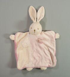 Doudou plat marionnette lapin beige et rose Lili Rose Kaloo filles in Bébé, puériculture, Peluches, doudous | eBay