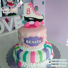 """Pastel para festejar los 8 añitos de Renata, temática """"Soy Luna"""" Felicidades!!! ."""