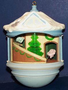 Image detail for -... Hallmark 1987 Christmas Morning Light and Motion Keepsake Ornament