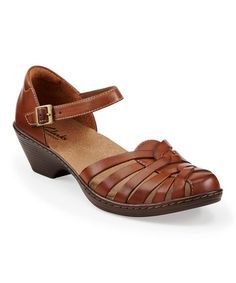 Look at this #zulilyfind! Tan Wendy Land Leather Sandal by Clarks #zulilyfinds