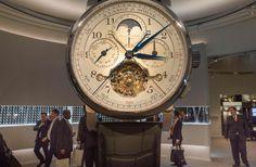 The Salon International de la Haute Horlogerie (SIHH) professional fair in fine watchmaking. Photo: AFP