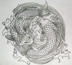 Double Koi Coy Fish Shaped Tattoo Design Sketch Tattoo Designs Drawings Snake 23 Ideas Ink A. Koi Tattoo Design, Tattoo Design Drawings, Sketch Tattoo, Form Tattoo, Shape Tattoo, Japanese Tattoo Designs, Tattoo Designs Men, Coy Fish Tattoos, Tattoo Muster