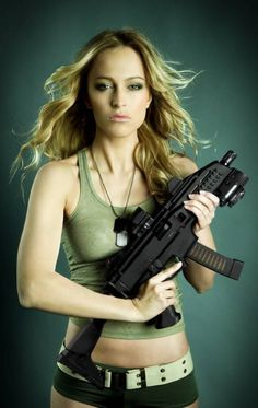 Machine Gun Girl | CZ Scorpion EVO III To Be Sold to Consumers | The Firearm Blog