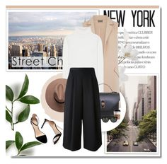 """In the streets of New York"" by aane1aa ❤ liked on Polyvore featuring Zara, Pier 1 Imports, Oasis, Chloé, Viktor & Rolf, Oliver Peoples and StreetStyle"
