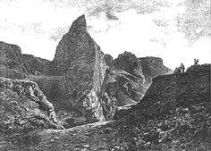 podolska cementarna, tisk 1887 Half Dome, Mount Everest, Mountains, Nature, Travel, Naturaleza, Viajes, Destinations, Traveling