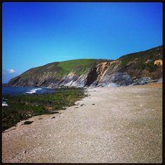 Porthbeor Beach - The Roseland.